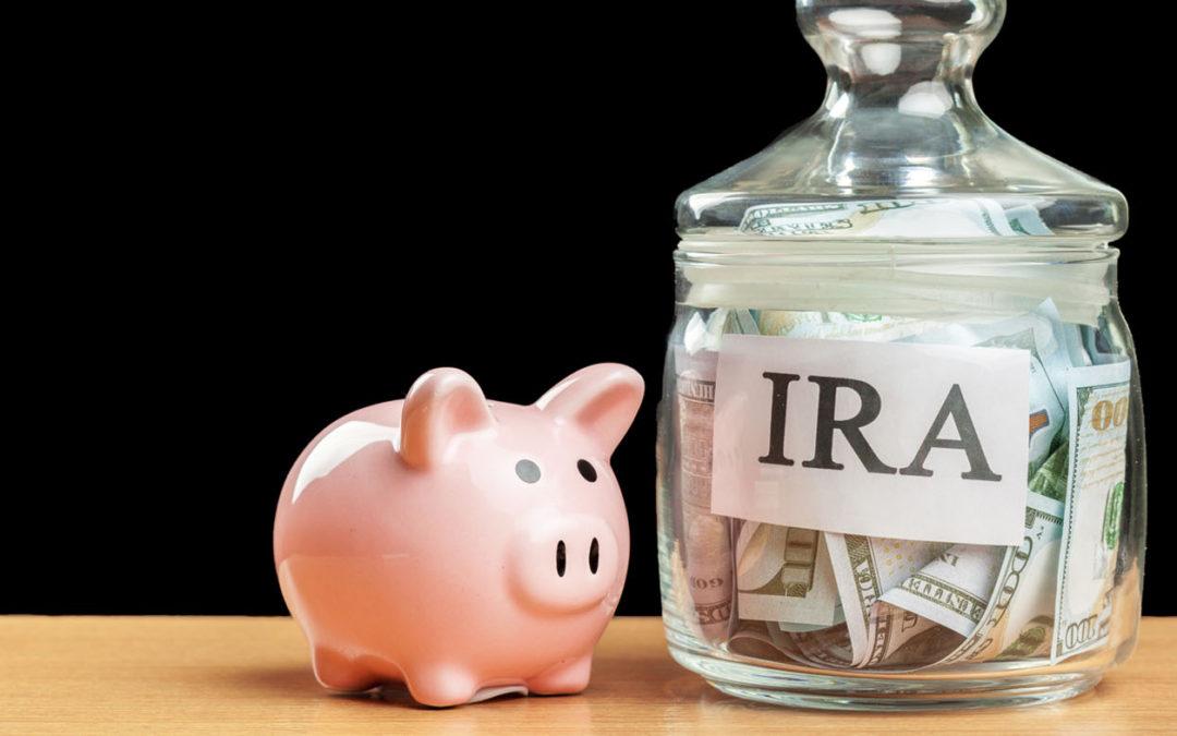 IRA and piggy bank